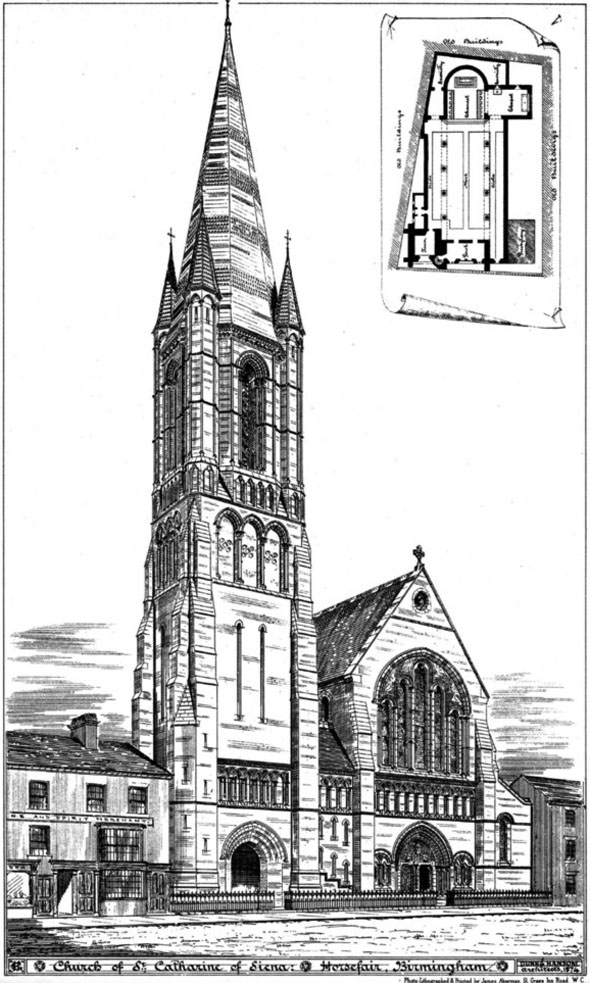 1875 &#8211; Church of St. Catherine of Siena, Birmingham