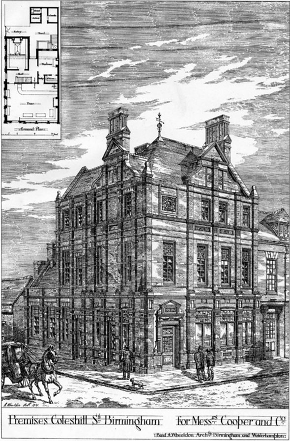 1879 &#8211; Coopers &#038; Co., Coleshill Street, Birmingham