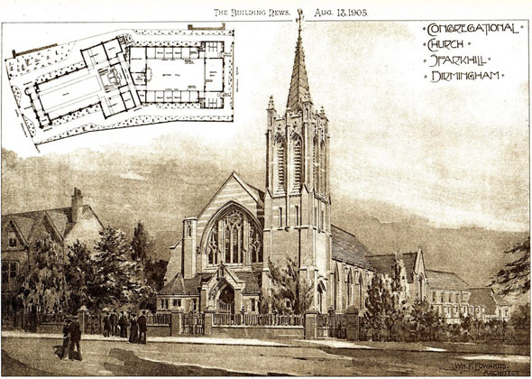 1905 &#8211; Congregational Church, Sparkhill, Birmingham