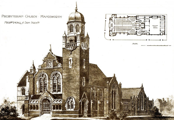 1897 &#8211; Presbyterian Church, Handsworth, Birmingham