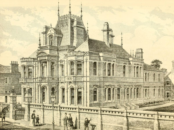 1869 – Harrington House, Leamington Spa, Warwickshire