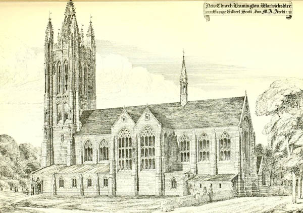 1879 – St. Marks Church, Leamington Spa, Warwickshire
