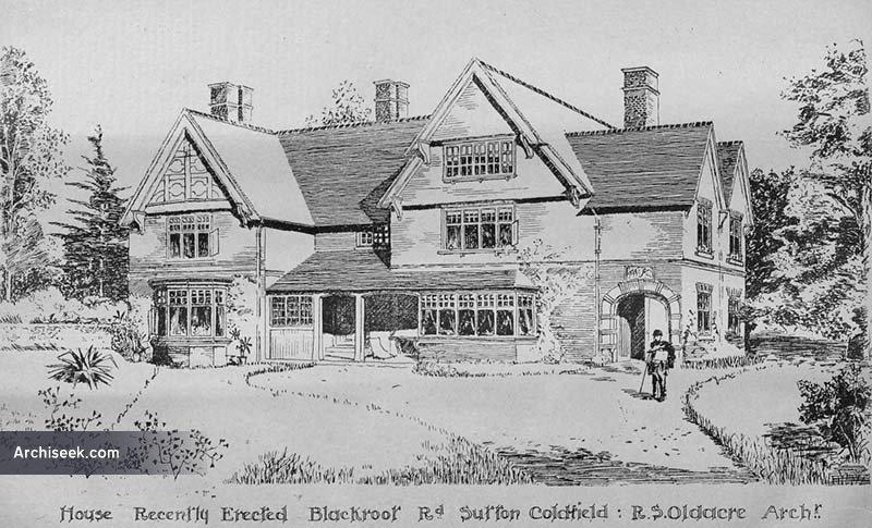 1898 – Residence, Sutton Coldfield, Warwickshire