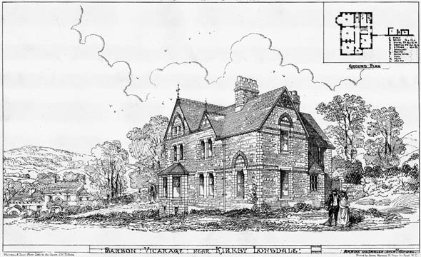 1873 – Vicarage near Kirkby Lonsdale, Westmorland
