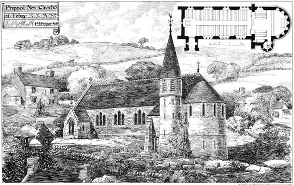 1878 &#8211; Proposed New Church at Tebay, Westmorland