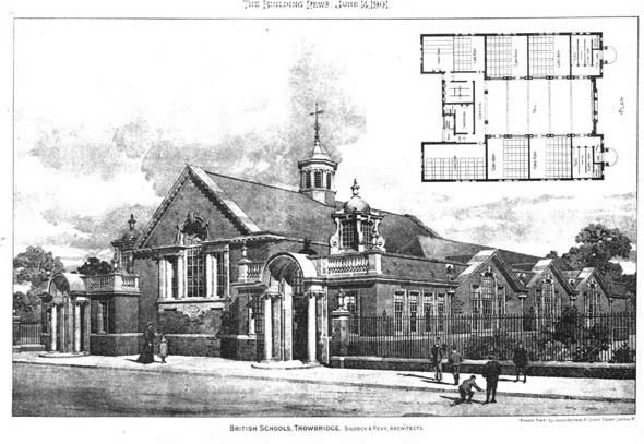 1901 – British Schools, Trowbridge, Wiltshire