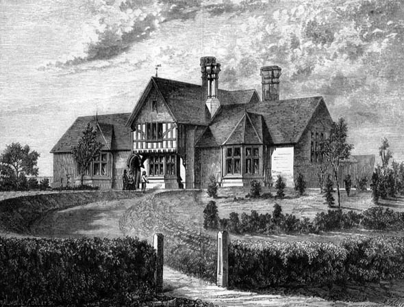 1873 &#8211; Savernake Cottage Hospital, Marlborough, Wiltshire