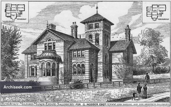 1881 – Residence, Milford Manor Estate, Salisbury, Wiltshire