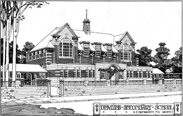 1906 &#8211; Devizes Secondary School, Wiltshire