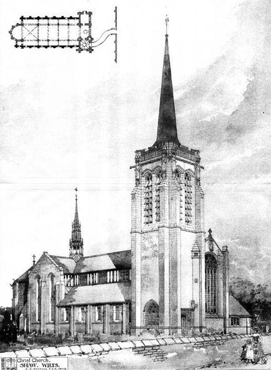 1905 – Christ Church, Shaw, Wiltshire