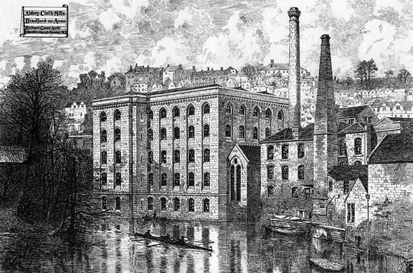 1875 &#8211; Abbey Cloth Mills, Bradford on Avon, Wiltshire