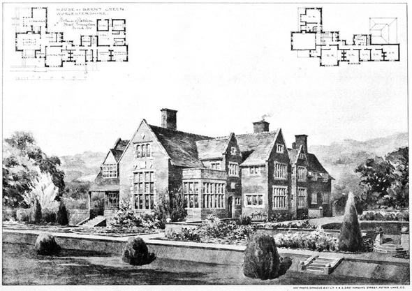 1901 &#8211; House at Barnt Green, Worcestershire