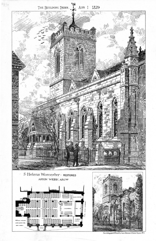 1879 – St. Helens Church, Worcester, Worcestershire