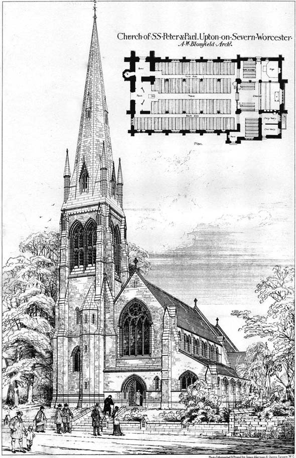 1878 – Church of S.S. Peter & Paul, Upton-on-Severn, Worcestershire