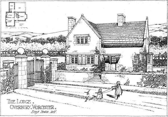 1904 &#8211; The Lodge, Overbury, Worcestershire