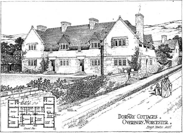 1904 &#8211; Dormay Cottages, Overbury, Worcestershire