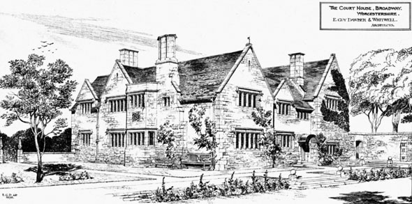 1898 &#8211; The Court House, Broadway, Worcestershire