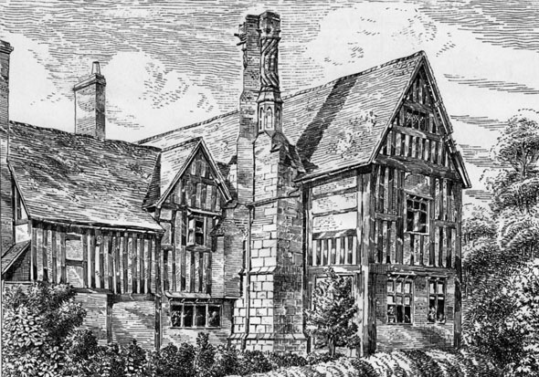 1881 &#8211; Huddington Court House, Worcestershire