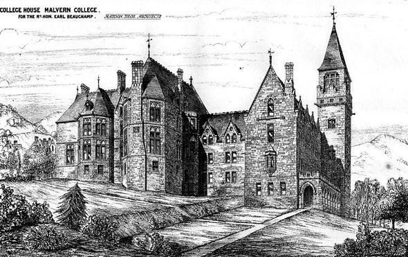 1875 &#8211; College House, Malvern College, Worcestershire