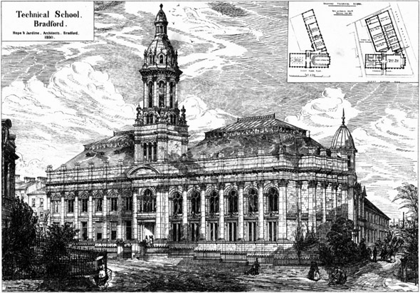 1882 &#8211; Technical School, Bradford, Yorkshire