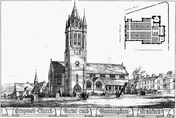 1879 &#8211; Church, Manningham, Bradford, Yorkshire