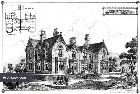1875 – Pair of Villas at Heaton, Bradford, Yorkshire