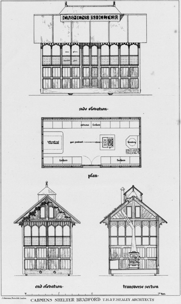 1878 – Cabman's Shelter, Bradford, Yorkshire