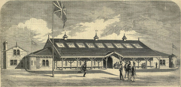 1861 &#8211; Volunteer Drill Hall, Bradford, Yorkshire
