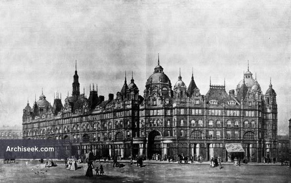 1901 – New Borough Market Hall, Leeds, Yorkshire