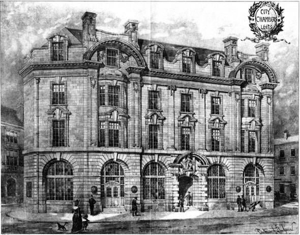 1906 – City Chambers, Leeds, Yorkshire