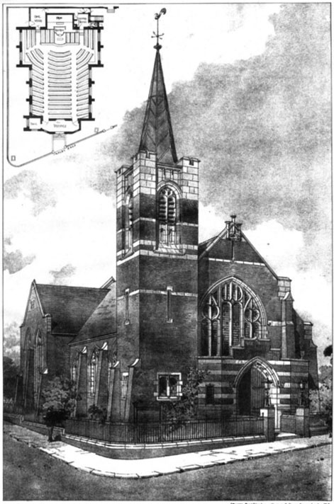 1906 &#8211; United Methodist Free Church, Ashley Road, Leeds, Yorkshire