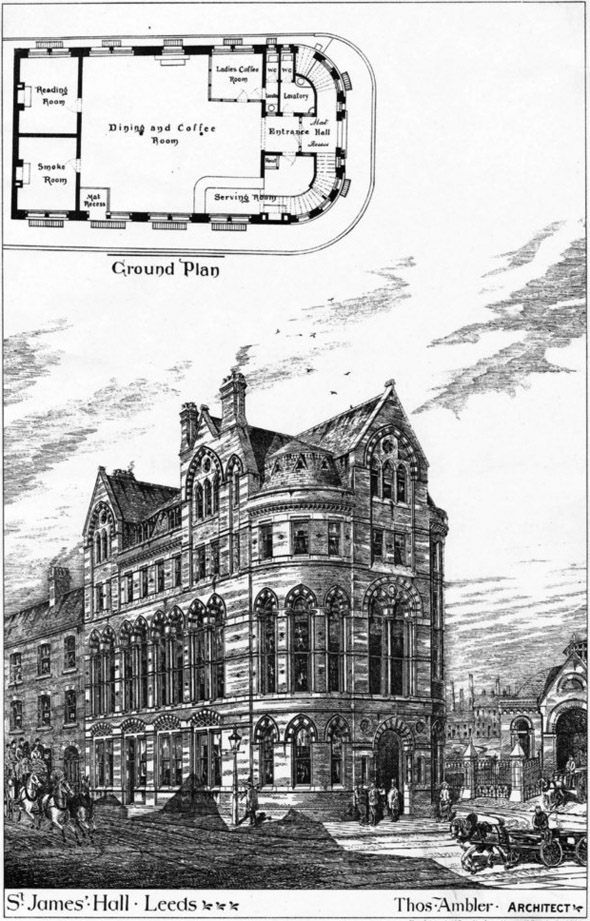 1877 – St. James' Hall, Leeds, Yorkshire