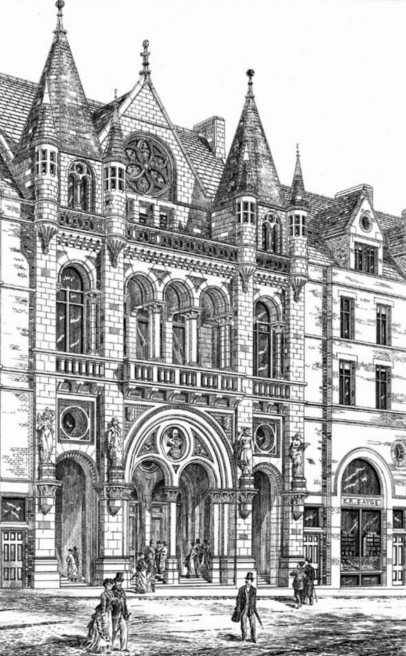 1878 – Grand Theatre & Opera House, Leeds, Yorkshire