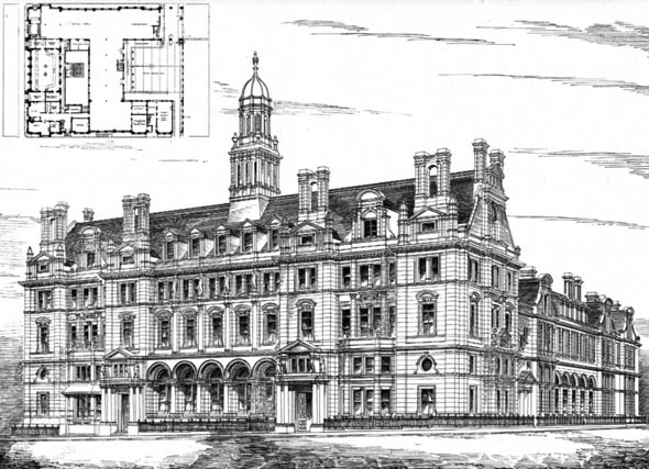 1892 – New Post Office, Leeds, Yorkshire