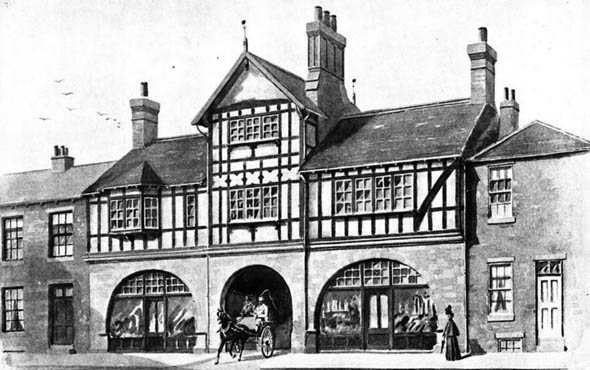 1900 &#8211; Stables &#038; Shops, Headingley, Leeds, Yorkshire