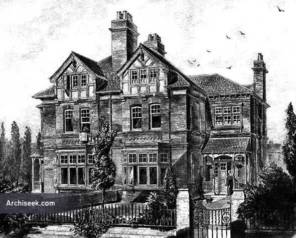 1883 – Semi-Detatched Villas, Broomfield Crescent, Headingley, Leeds, Yorkshire