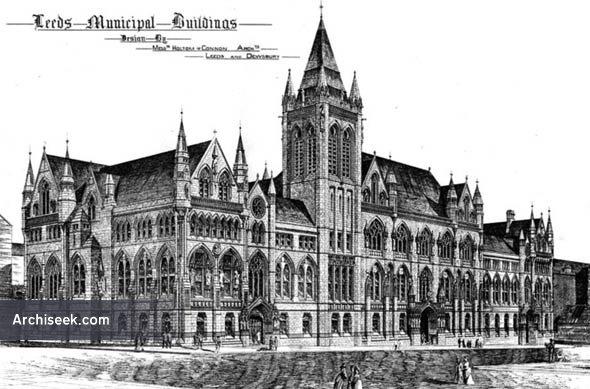 1877 – Leeds Municipal Buildings, Yorkshire