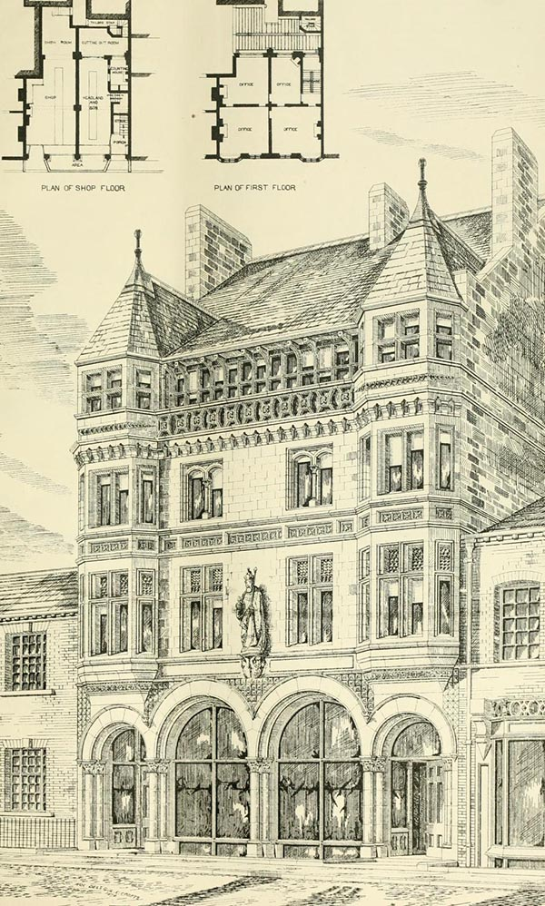 1879 &#8211; Headland Buildings, Leeds, Yorkshire