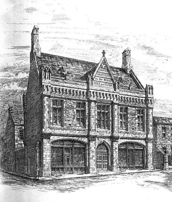 1875 &#8211; United Institute for the Industrious and Indigent, Leeds, Yorkshire