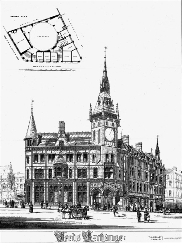 1873 &#8211; Leeds Exchange, Yorkshire