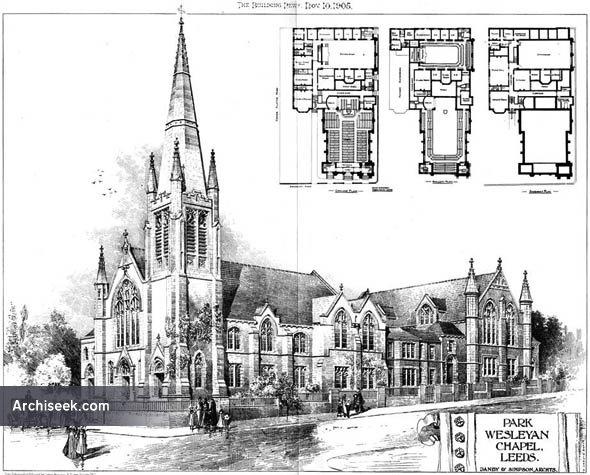 1905 – Park Wesleyan Chapel, Leeds, Yorkshire