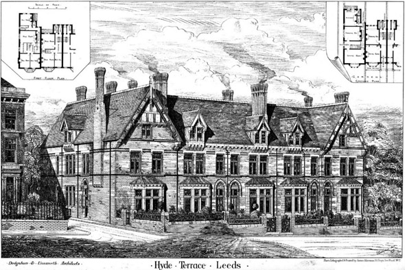 1877 &#8211; Hyde Terrace, Leeds, Yorkshire