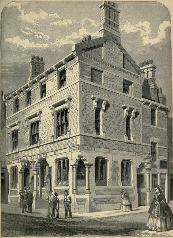 1860 &#8211; The Phoenix Inn, Leeds, Yorkshire