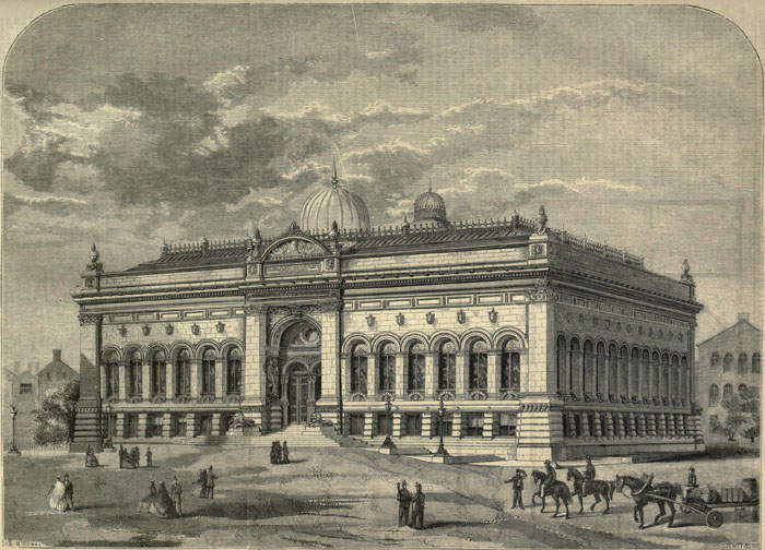 1868 – Mechanic's Institute, Leeds, Yorkshire