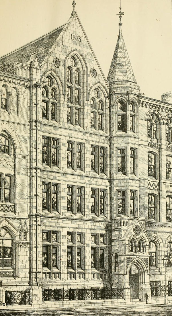 1873 &#8211; Warehouse, Wellington St., Leeds, Yorkshire