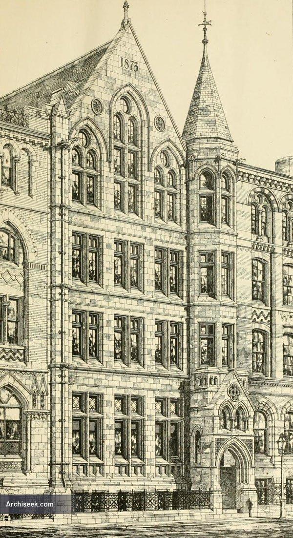 1873 – Warehouse, Wellington St., Leeds, Yorkshire