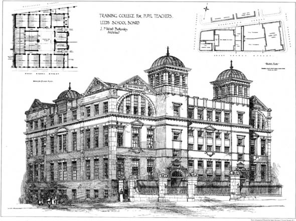 1901 &#8211; Leeds College for Pupil Teachers, Yorkshire