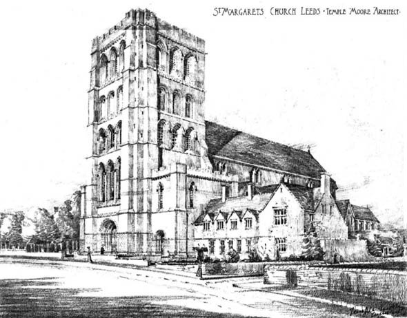 1903 &#8211; St. Margarets Church, Leeds, Yorkshire