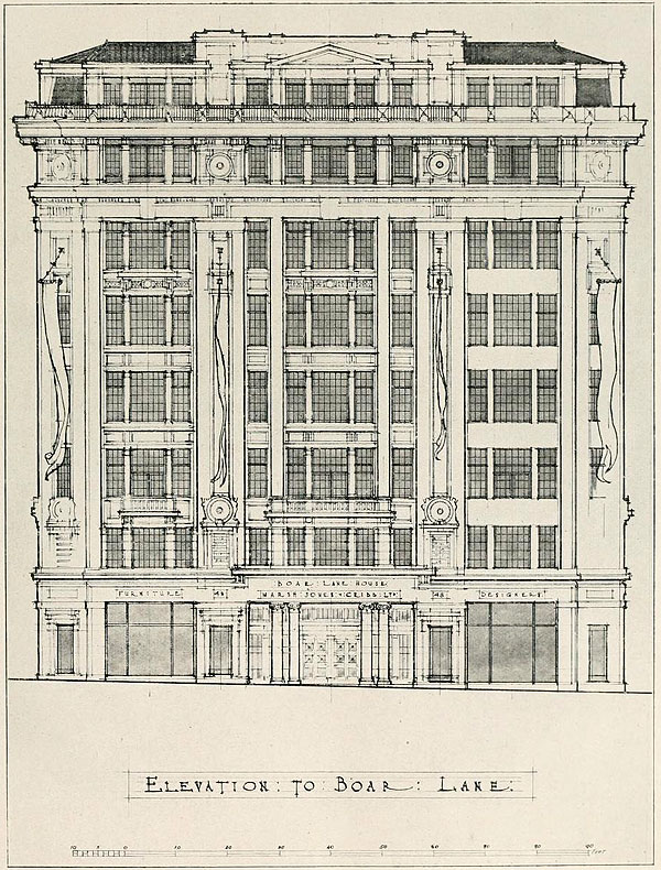 1920 &#8211; Marsh, Jones, &#038; Cribb Department Store, Leeds, Yorkshire