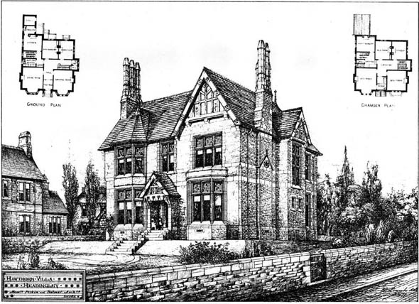 1879 &#8211; Hawthorn Villa, Headingley, Leeds, Yorkshire